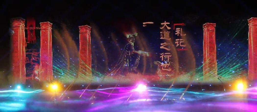 中润光电十大经典案例-太原清徐《国际音乐焰火节》