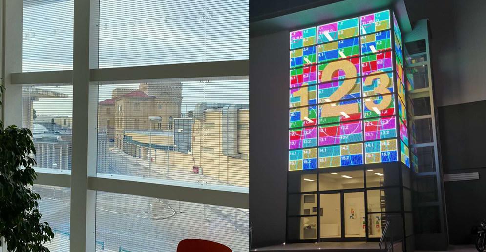 中润LED贴膜屏案例,当创意遇上创意,谁惊艳了谁?