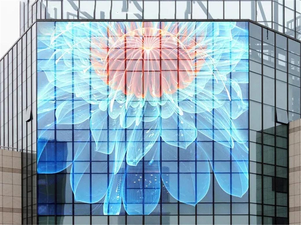 LED网格屏、LED显示屏的种类与应用