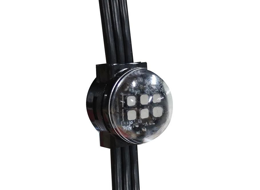 LED网格屏-6颗灯点
