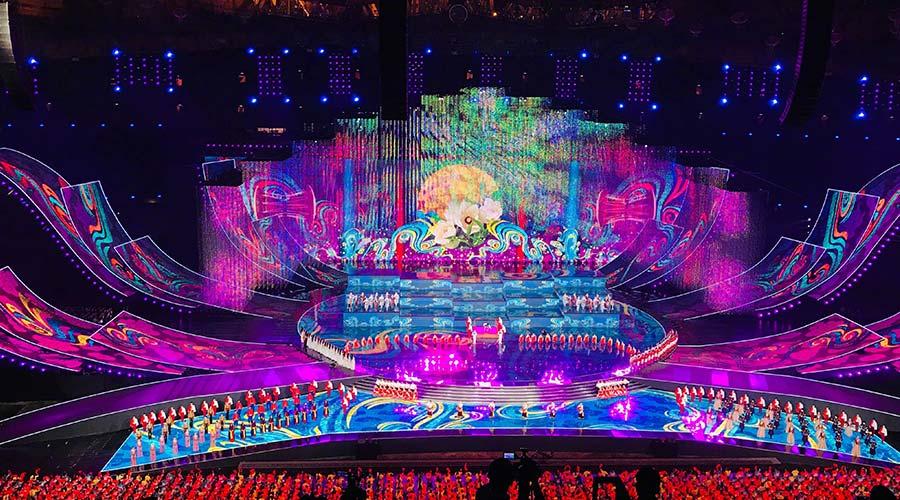 亚洲文化嘉年华LED矩阵