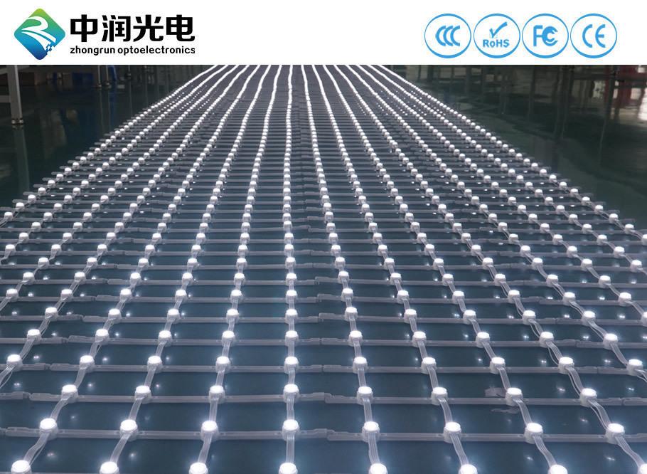 白色LED网格屏