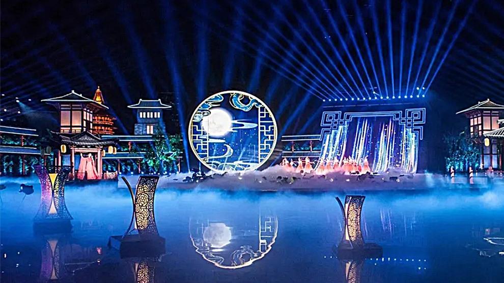 网格屏案例-2020央视中秋晚会