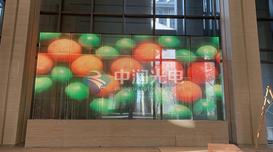 LED光电玻璃案例-上海某商场