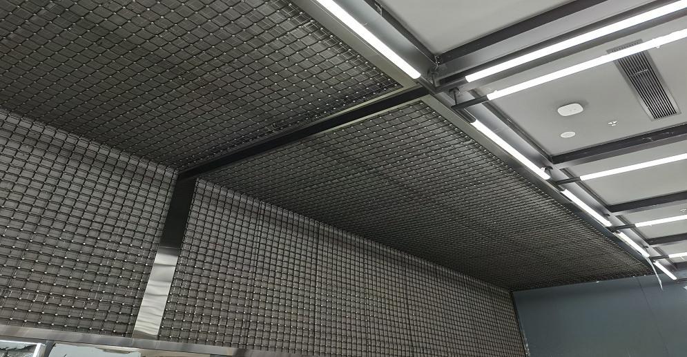 网格屏案例-佛山实验室展厅P-100