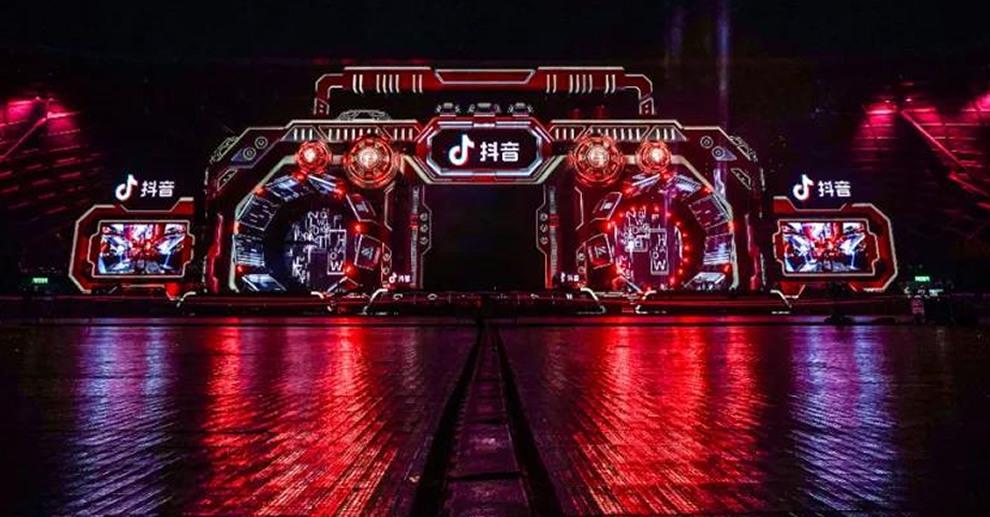 户外透明屏案例-浙江卫视跨年晚会