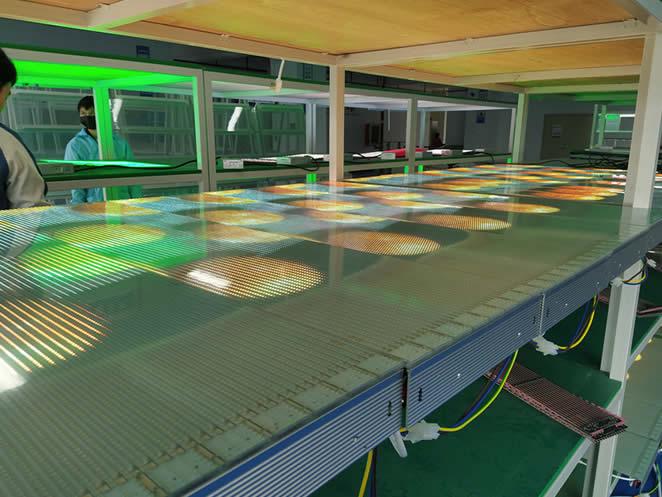 LED贴膜屏生产过程,LED贴膜屏生产流程!